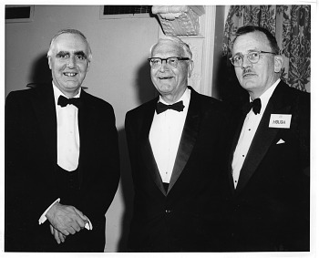 Preview of (left to right): Sir Edward (Teddy) Crisp Bullard (1907-1980), Adolph Knopf (1882-1966), and Jack Luin Hough (b. 1909)