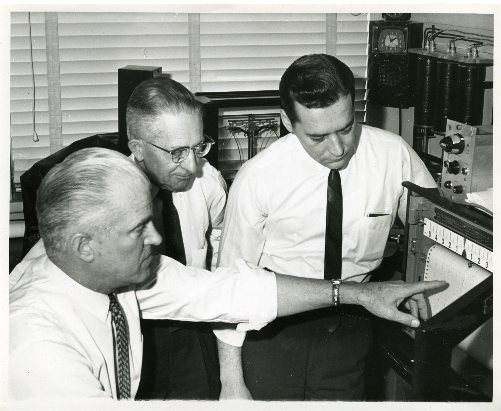 Preview of (l to r) Henry Harrington, Glenn Gregory, and Bill Nelson