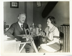 Image of Charles Francis Jenkins (1867-1934), with Unknown Woman