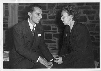 Preview of Frédéric Joliot (1900-1958) and Irène Joliot-Curie (1897-1956), 1940s