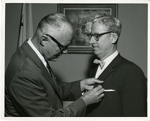 Image of James Henry Wakelin, Jr. (left) and Peter King (right)