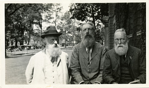 Image of James Mavor, D'Arcy Wentworth Thompson, and Herbert Wildon Carr