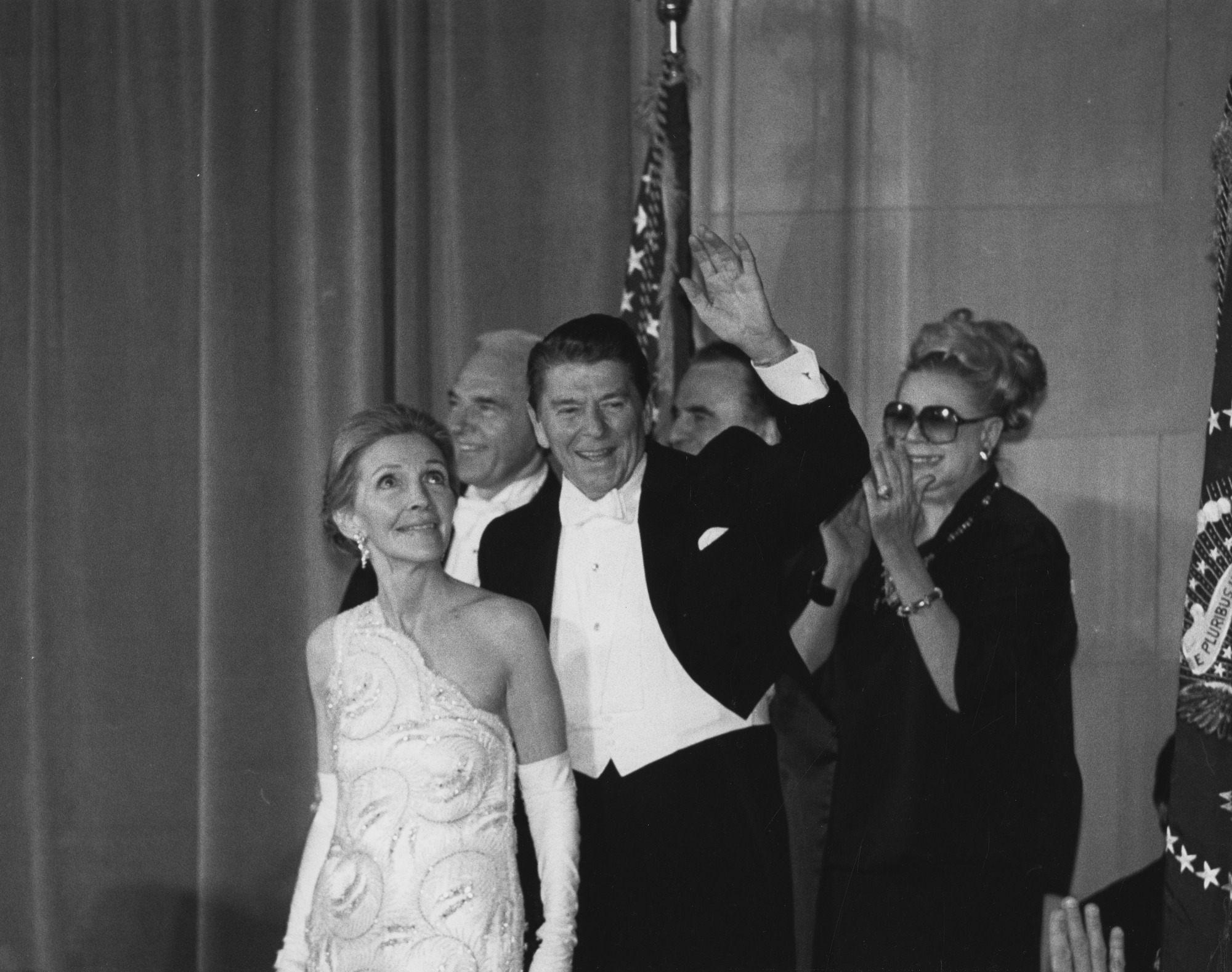President and Mrs. Reagan at the NMNH Inaugural Ball