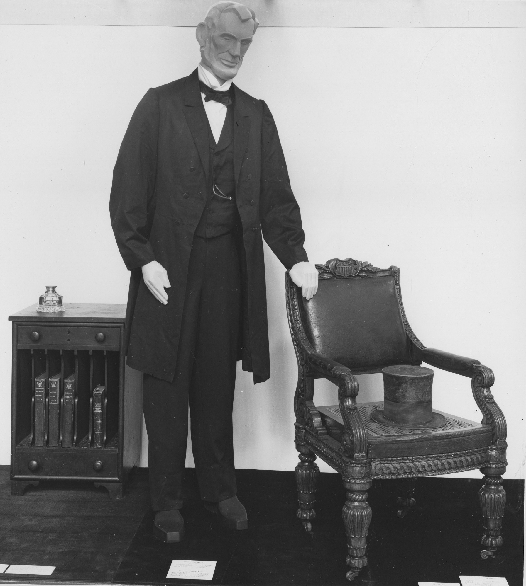 President Lincoln's Suit, by Unknown, 1959, Smithsonian Archives - History Div, SIA2009-0440.