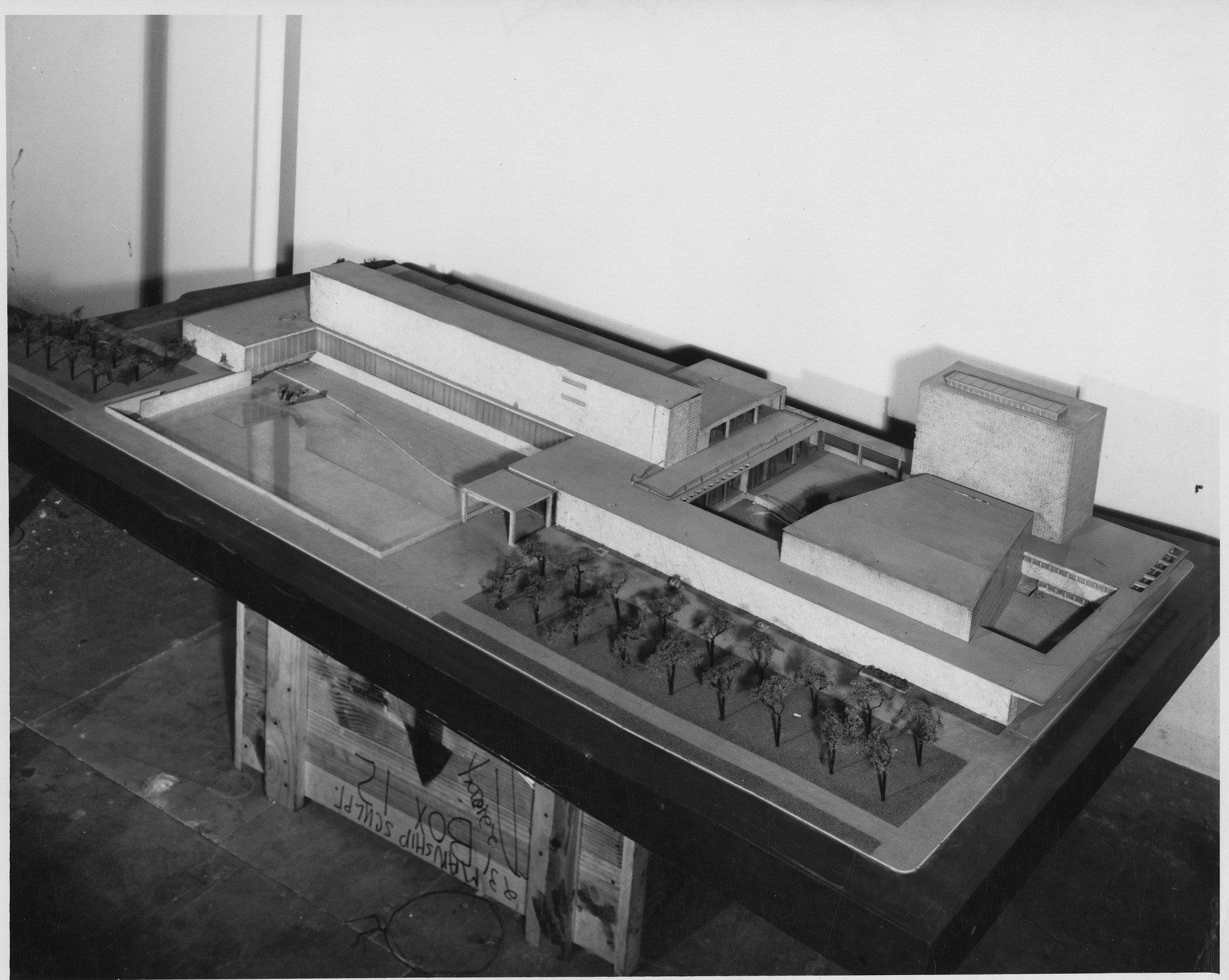 Model of Proposed National Galley of Art