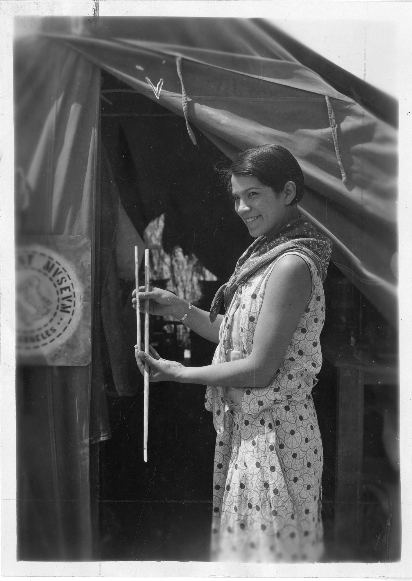 Bertha Parker Pallan [Cody] (1907-1978), Smithsonian Institution Archives, SIA Acc. 90-105 [SIA2009-0779].