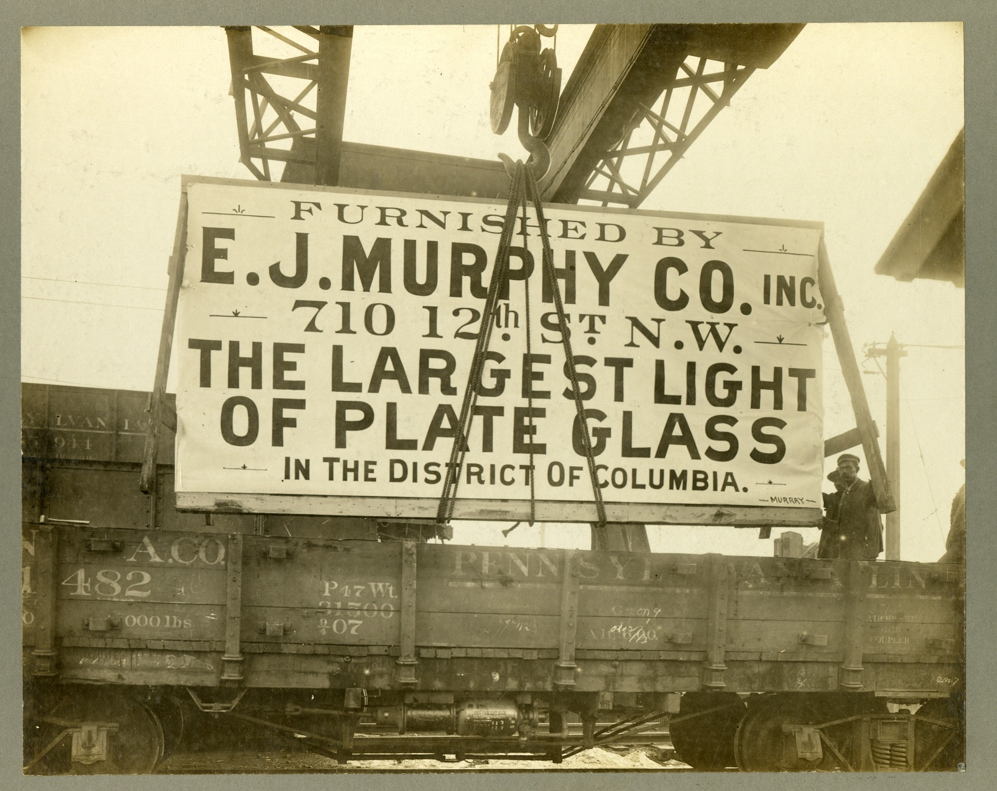 Preview of E. J. Murphy Co. Plate Glass and Laborers