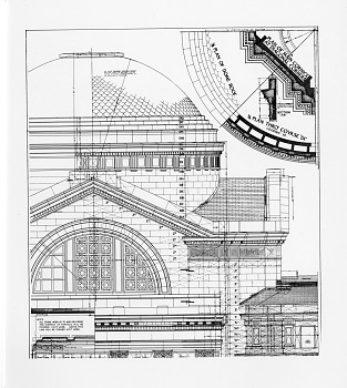 Preview of NMNH Stonework Details of South Entrance and Dome (B)