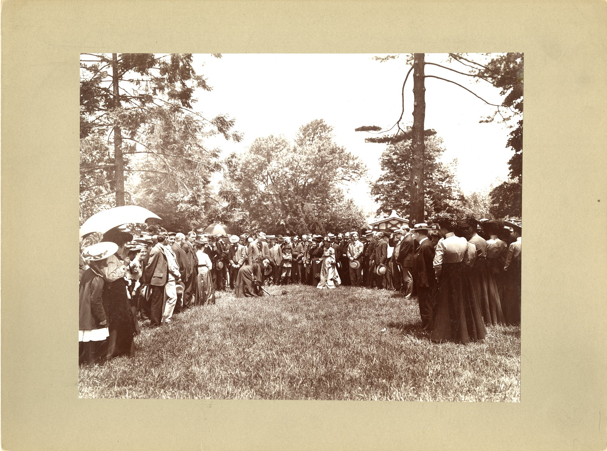 Groundbreaking for the Natural History Building