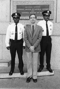 Image of Crime stoppers James Burford, Anthony Pineau, and Raymond Watson, 1981