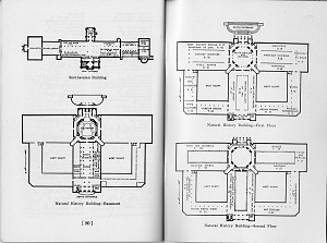 Image of Floorplans of Natural History Building and SI Building