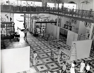Image of Arts and Industries Building, Transportation Exhibit