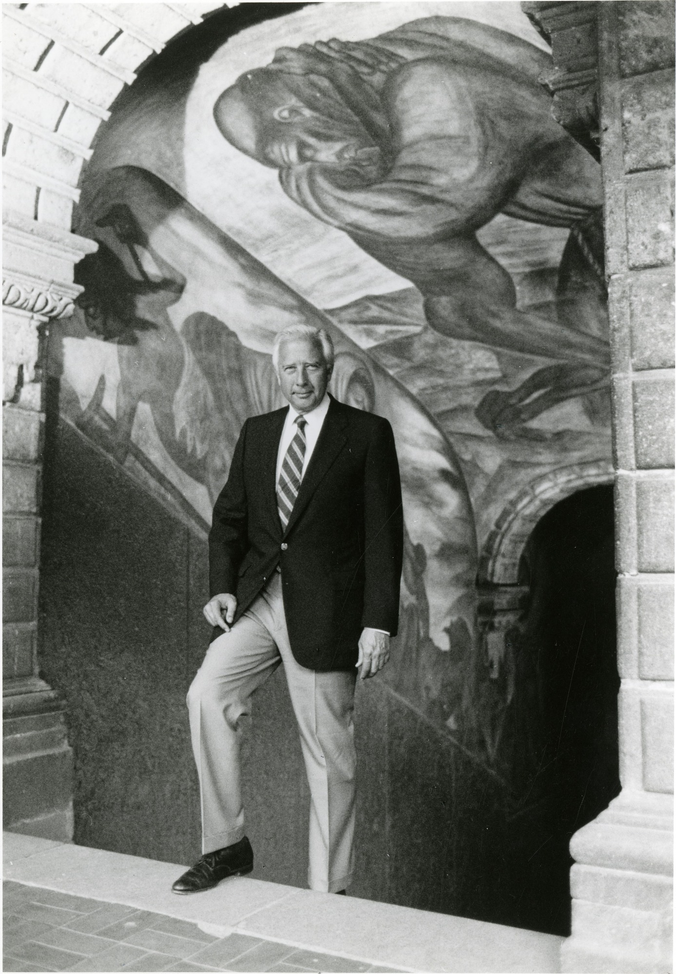 David McCullough at Orozco Murals