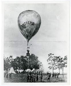Image of Thaddeus Lowe's Balloon Ascent