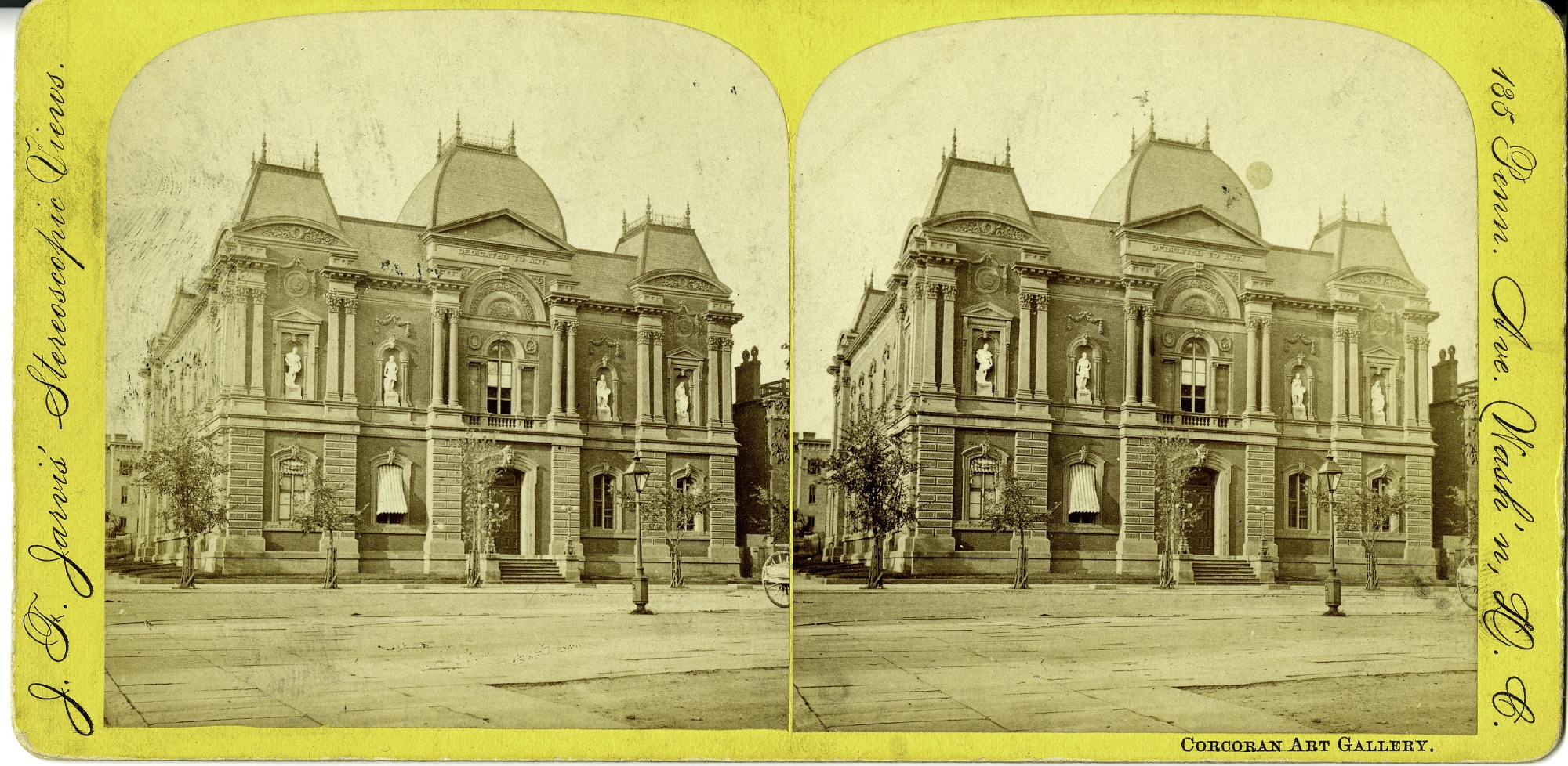 Exterior of Renwick Gallery (19th c.), by Jarvis, J. F, Smithsonian Archives - History Div, SIA2011-1138 or SIA2008-2350 or 95-1169.