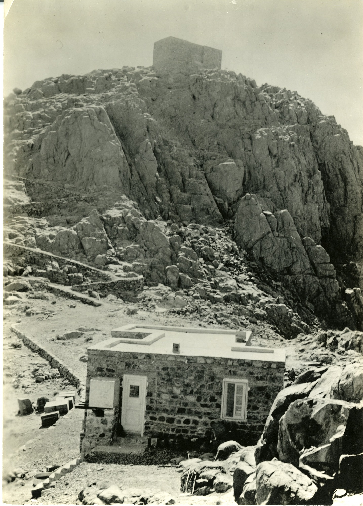 Observatory on Mount St. Katherine, Egypt