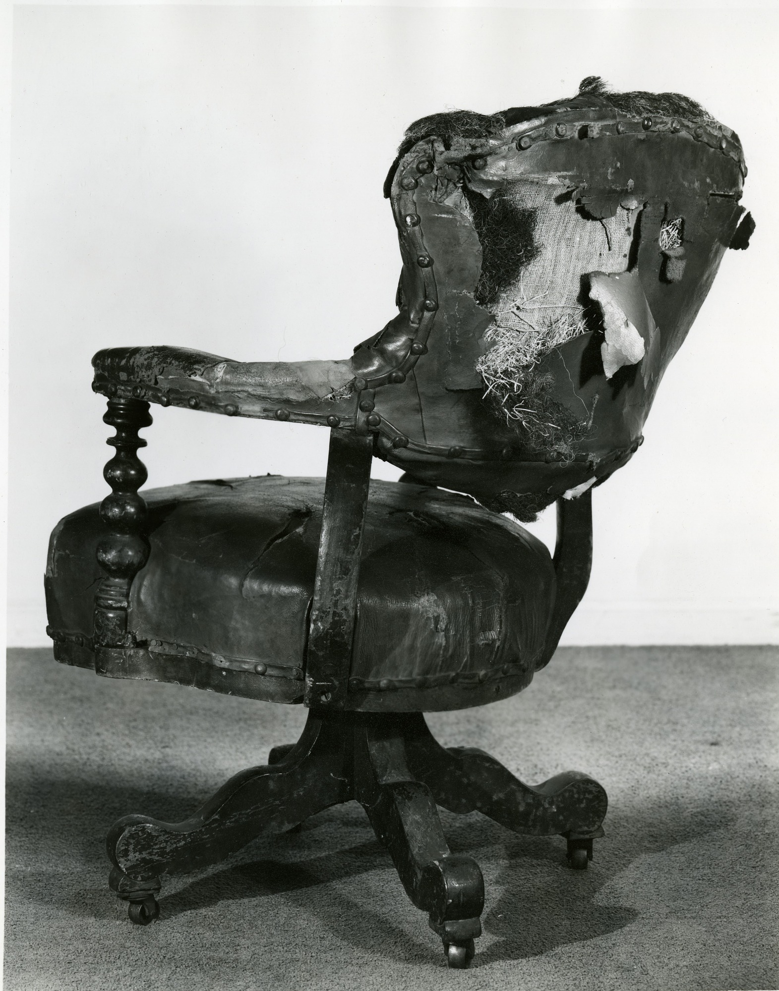 Lincoln Chair at the Cooper Union Museum