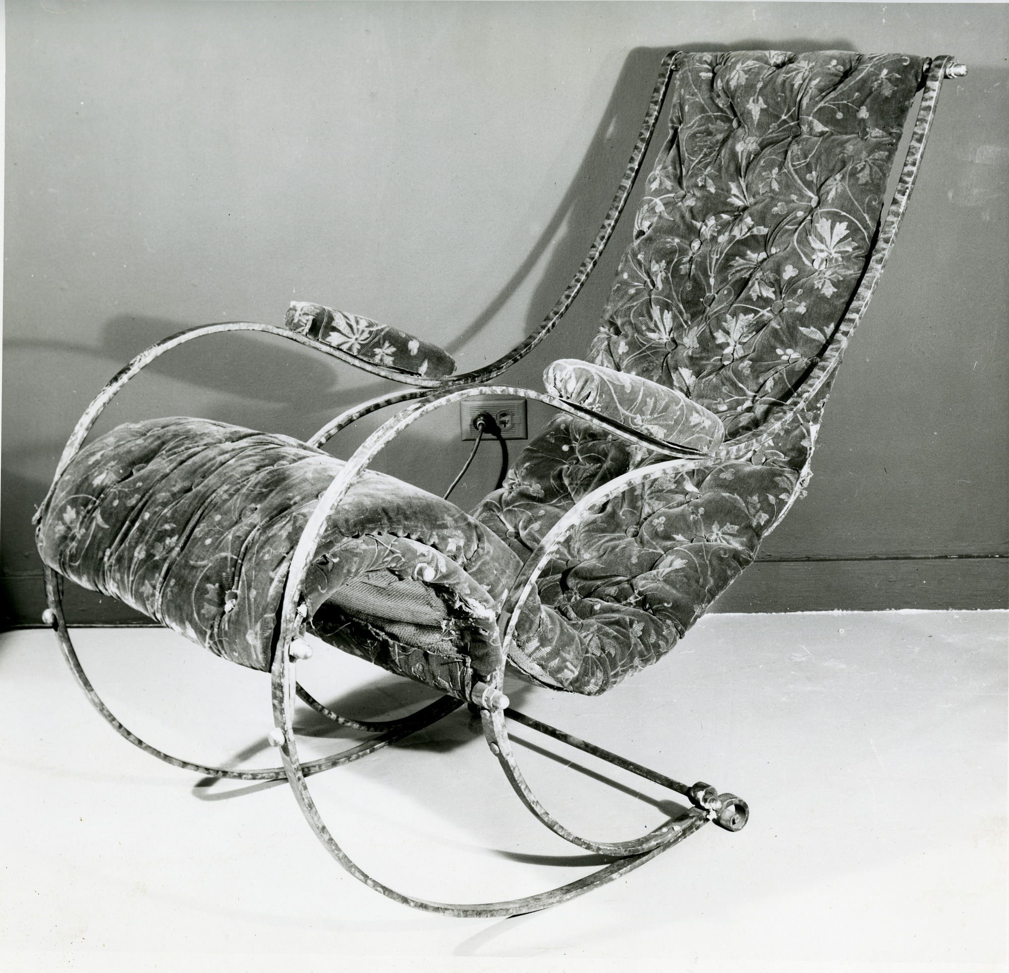 Steel Chair Designed by Peter Cooper