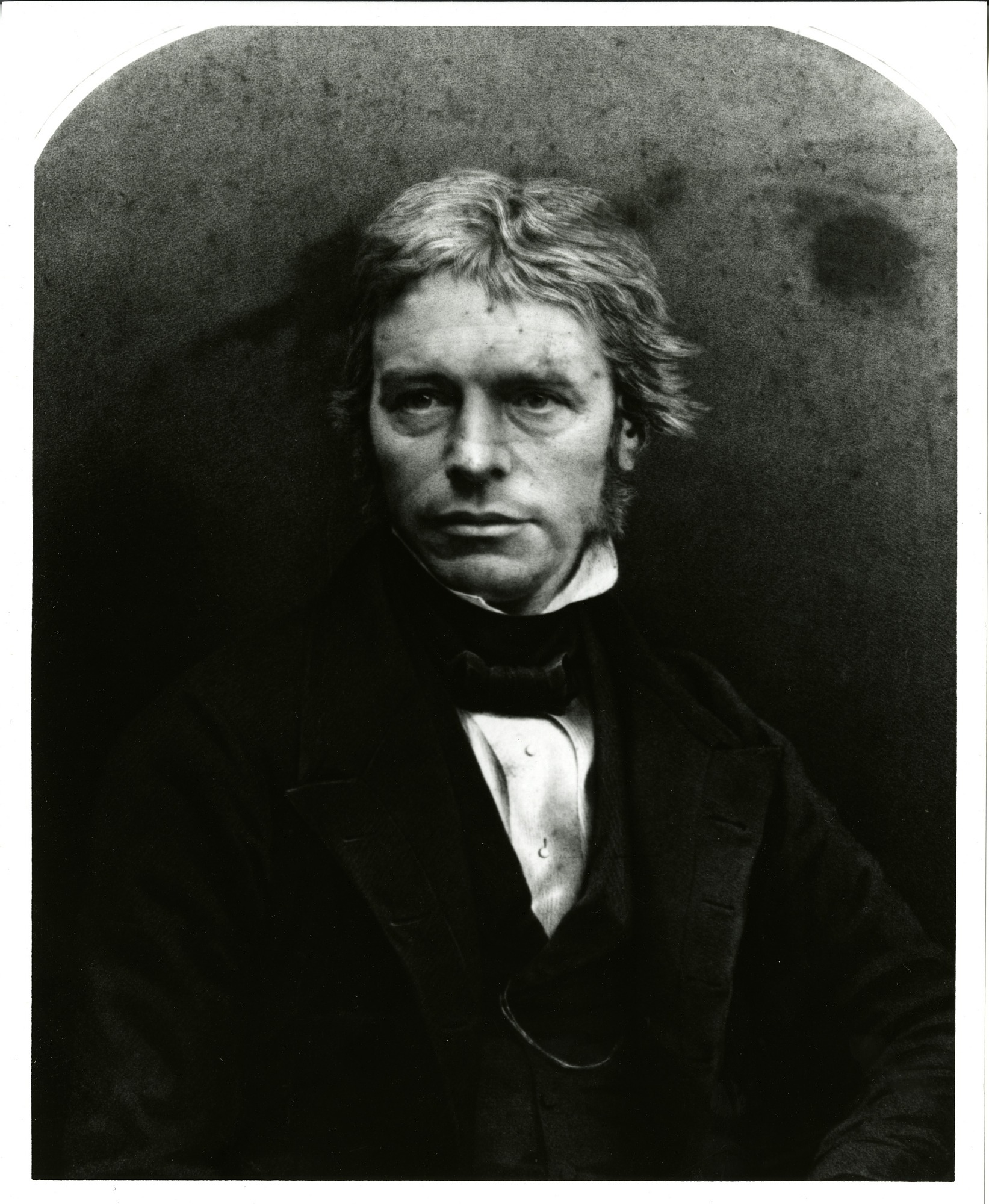 Michael Faraday, by Unknown, Smithsonian Archives - History Div, SIA2012-1087 and SA-523.