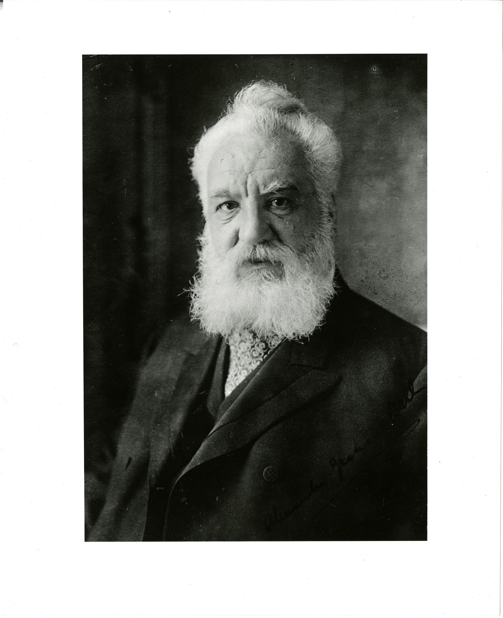 Alexander Graham Bell, by Unknown, c. 1910s, Smithsonian Archives - History Div, SIA2012-1088 or 41768-A.