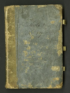 Image of Notebook kept by Rafinesque on a trip from Philadelphia to Kentucky, 1818