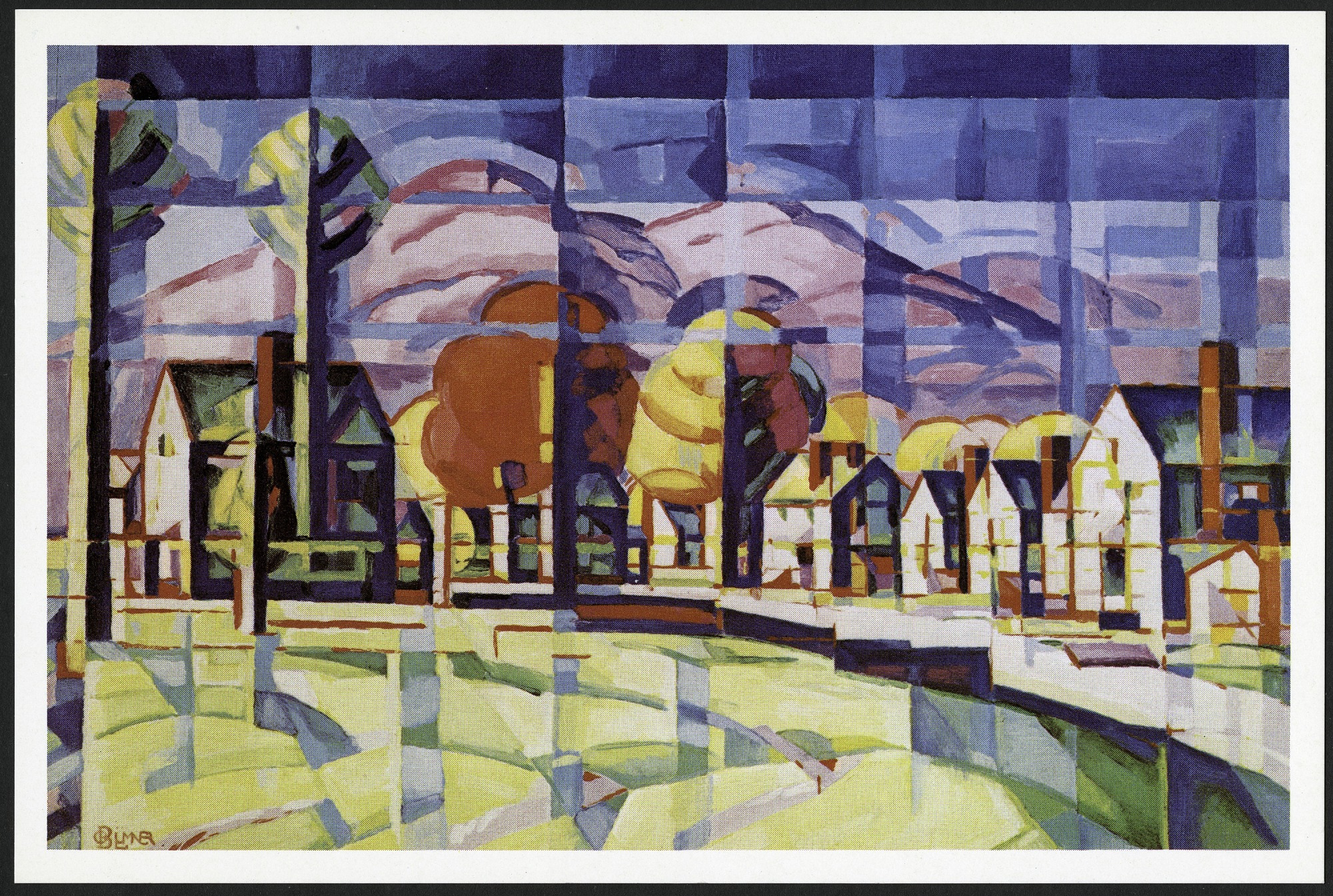 "Postcard of ""Morning Light"""