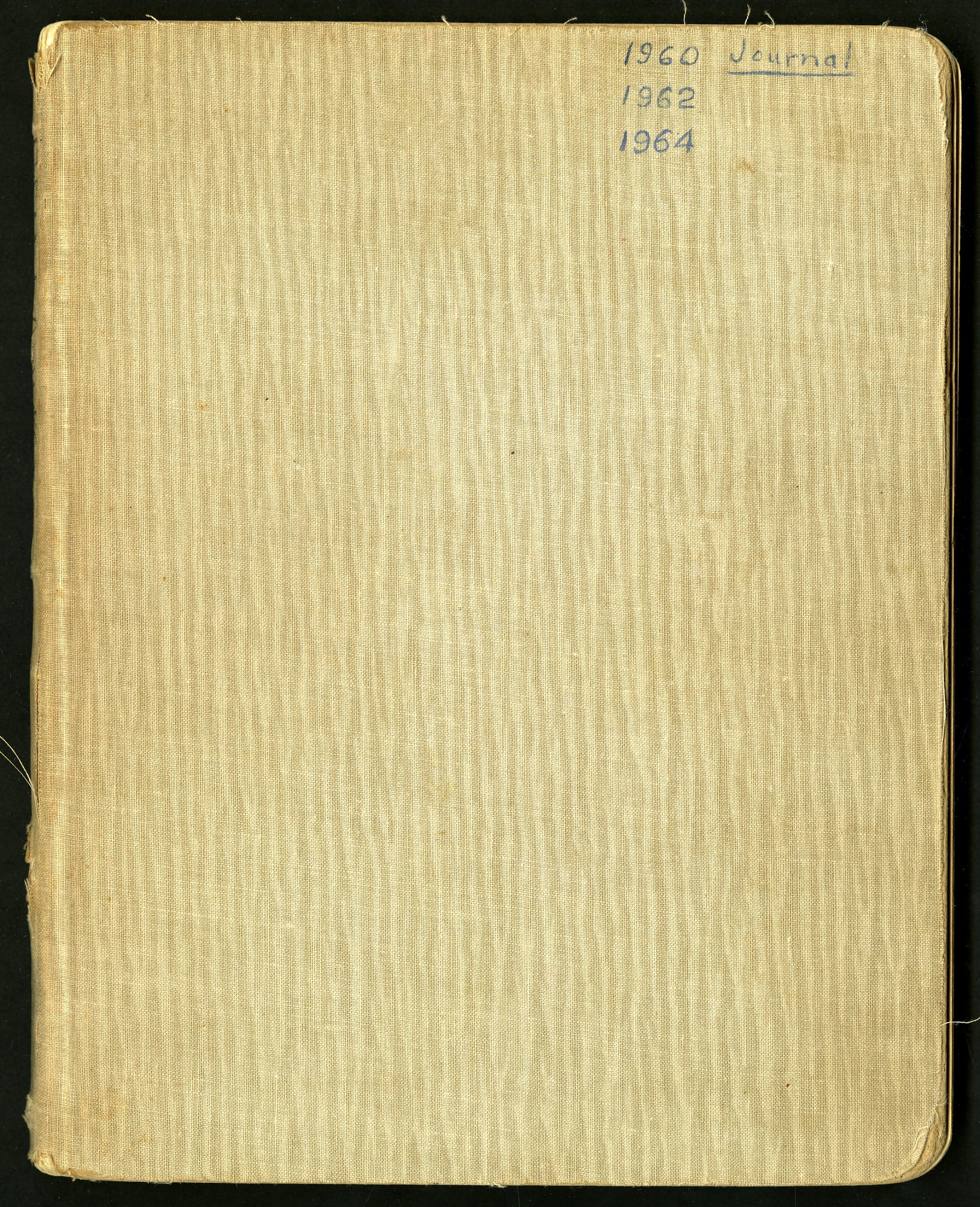 Journal from field trips to the American west, 1960, 1962, 1964