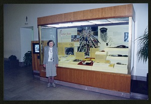 Image of Roxie Laybourne standing in front of the