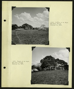 Image of Album 1 Panama, 1954 : includes photographs of Wetmore and Beatrice Thielen Wetmore