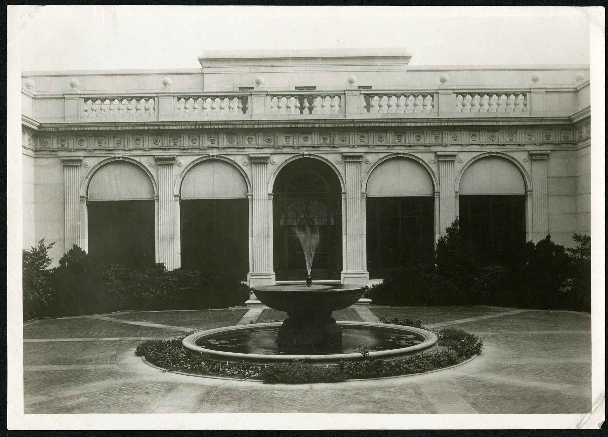 Preview of The Freer Gallery of Art Courtyard, Looking South