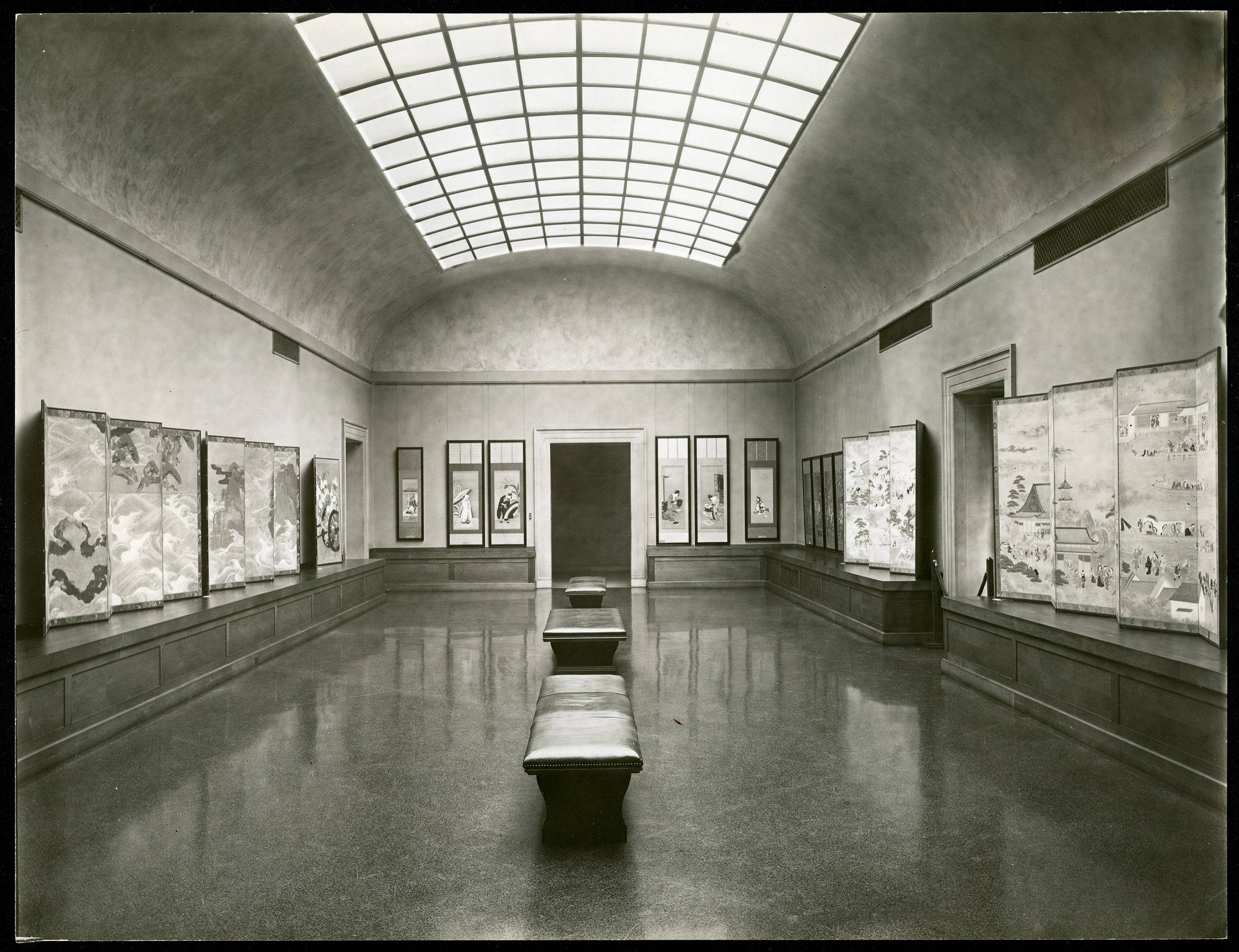 Preview of Gallery V Looking South in the Freer Gallery of Art