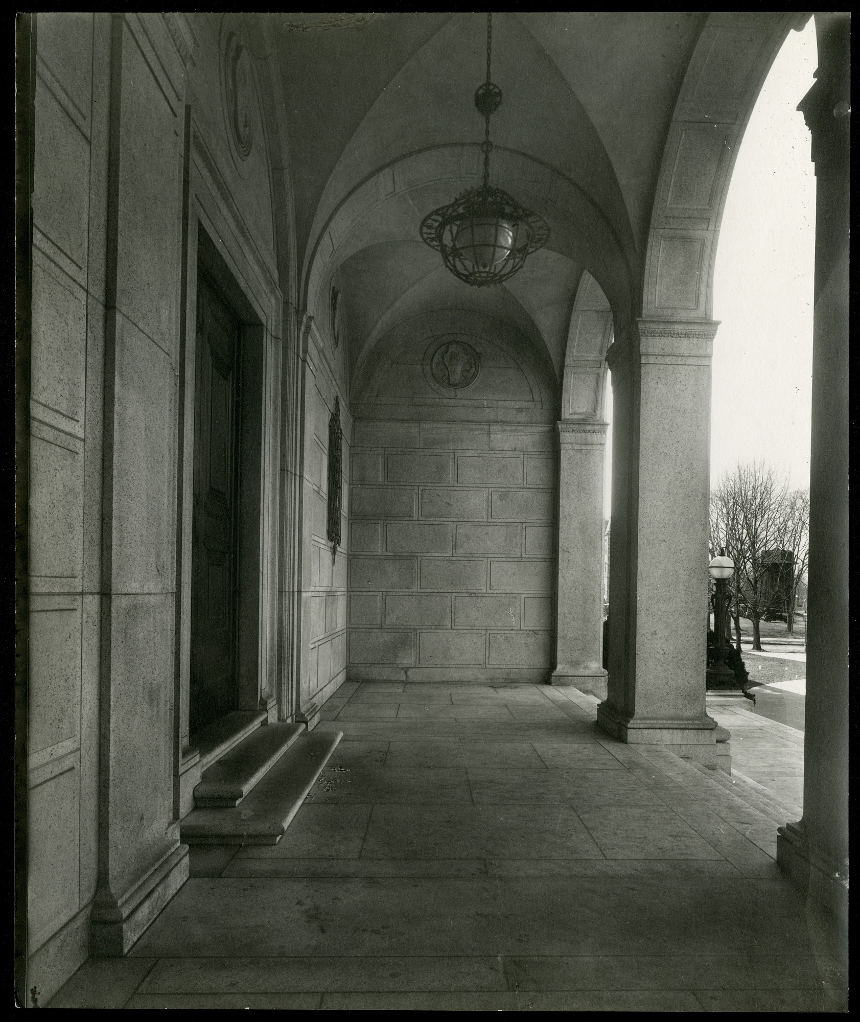 Preview of North Porch of the Freer Gallery of Art