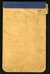 Image of Diary, August 31-September 8, 1908 and itinerary from Bering Island