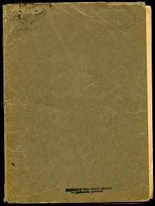 Image of Mary Agnes Chase notes, 1922 trip