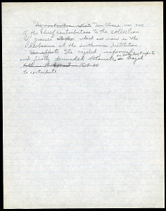 Image of Mary Agnes Chase letters to Albert Spear Hitchcock, written in Brazil