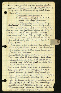 Image of Diary, 1931-1935