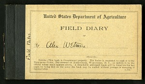 Image of Field notes, February - August 1913 : bird observations made on trips in Washington, D. C., Maryland, and Virginia
