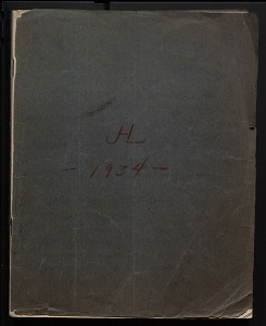 Image of Diaries and field notes, 1915 - 1972