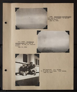 Image of Album 2 Uruguay, Argentina, and Paraguay, 1920 : includes photographs of Wetmore, Carl Hettman, and Fred Hettman