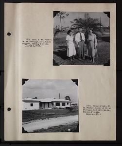 Image of Album 1 Panama, 1949 : includes photographs of Wetmore, Watson M. Perrygo, Richard H. Stewart, Matthew Williams Stirling, Marion Illg Stirling, and James Zetek