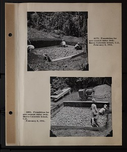 Image of Album 2 Panama, 1950 : includes photographs of Wetmore, Watson M. Perrygo, and Ratibor Hartmann; Also includes photographs of the Canal Zone Biological Area