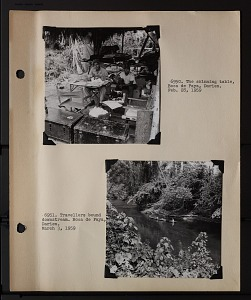 Image of Album 3 Panama, 1959, volume 2 : includes photographs of Wetmore, Beatrice Thielen Wetmore, and Martin Humphrey Moynihan