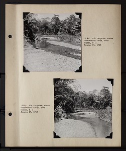 Image of Album 1 Panama, 1960 : includes photographs of Wetmore, Beatrice Thielen Wetmore, and Frank Alexander Hartman