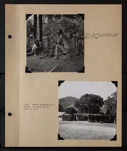 Image of Album 2 Panama, 1962, volume 2, includes photographs of Wetmore and Beatrice Thielen Wetmore