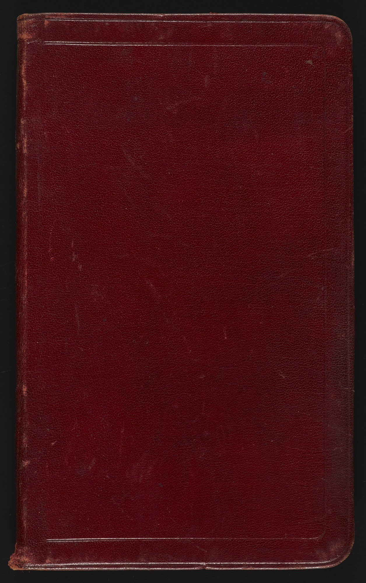 Field notes, undated, 2 volumes