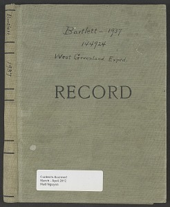 Image of West Greenland Expedition (Accession 144924), 1937