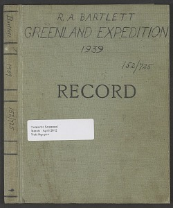 Image of Greenland expedition (Accession 152725), 1939.