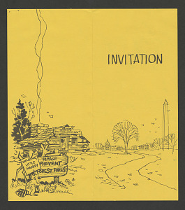 Image of Little Smokey Welcome Reception Invitation