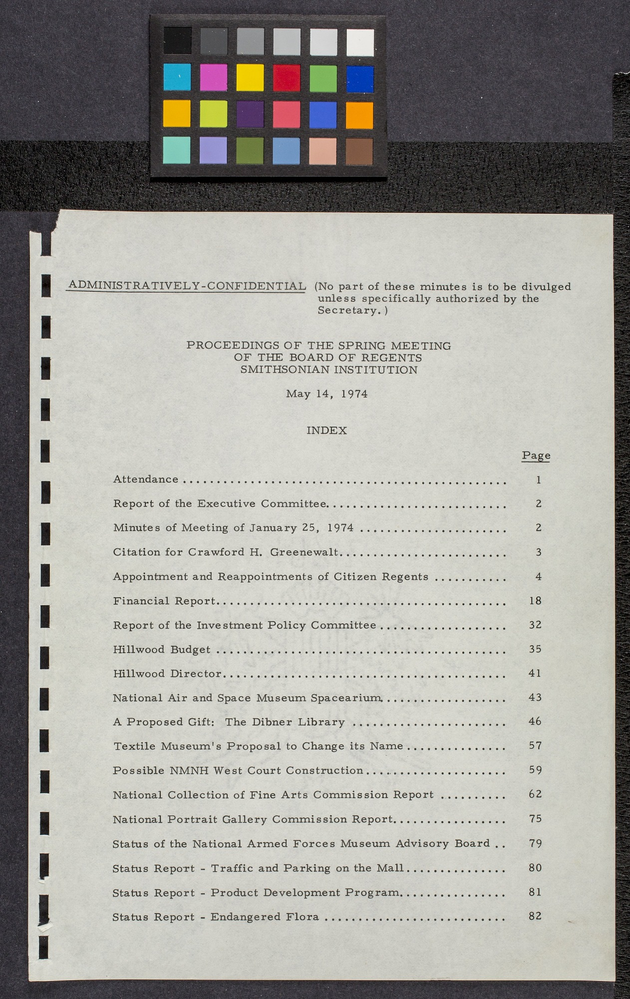Proceedings of the Board of Regents May 14, 1974