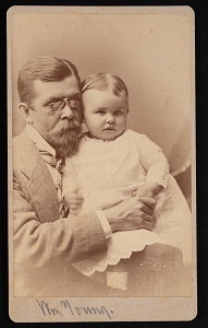 Image of Portrait of William Young and Child